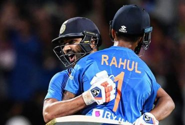 Rohit Sharma and KL Rahul