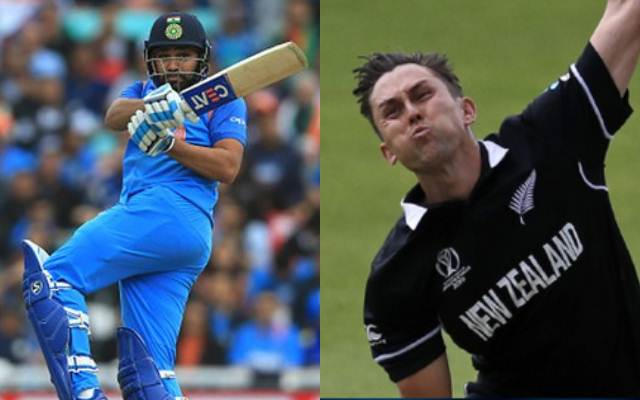 Rohit Sharma and Trent Boult