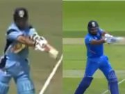Sachin Tensulkar and Rohit Sharma