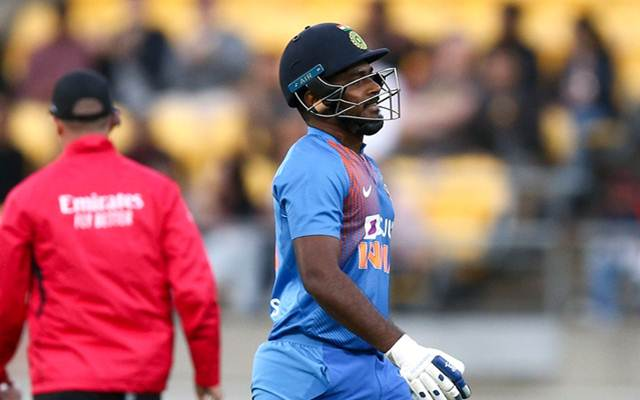 Learn from your mistake' - Twitter lashes out at Sanju Samson for ...
