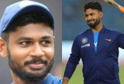 Sanju Samson and Rishabh Pant