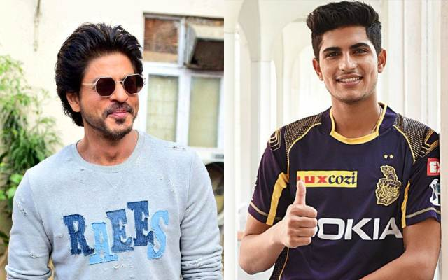 Shahrukh Khan and Shubman Gill