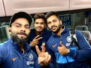 Virat Kohli, Shreya Iyer and Shardul Thakur