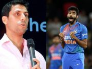Ashish Nehra and Jasprit Bumrah