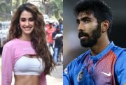 Disha Patani and Jasprit Bumrah
