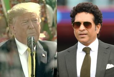 Donald Trump and Sachin Tendulkar
