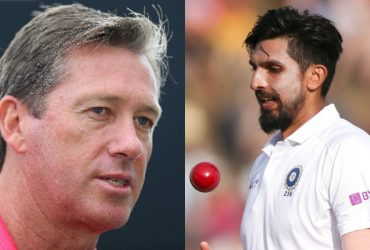 Glenn McGrath and Ishant Sharma