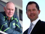 Greg Chappell and Ricky Ponting