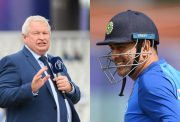 Ian Smith and MS Dhoni