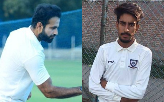 Irfan Pathan and Mujtaba Yousuf