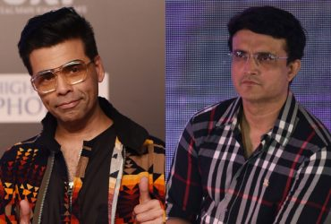 Karan Johar and Sourav Ganguly