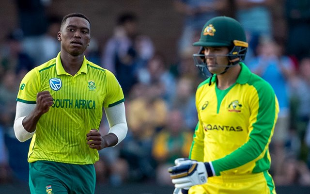 South Africa's Bowlers Choke Australia to Level T20I series