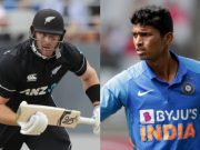 Martin Guptill and Navdeep Saini