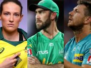 Megan Schutt, Glenn Maxwell, James Pattinson