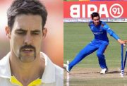 Mitchell Johnson and Noor Ahmad