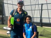 Mitchell Starc and Poonam Yadav