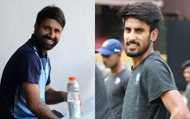 Parvez Rasool and Mujtaba Yousuf
