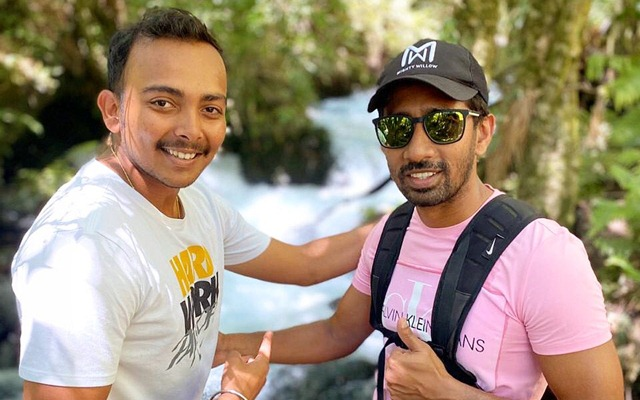 Prithvi Shaw and Wriddhiman Saha