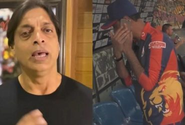 Shoaib Akhtar on Karachi Kings member using mobile phone