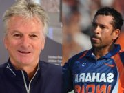 Steve Waugh and Sachin Tendulkar