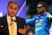 Virender Sehwag and MS Dhoni