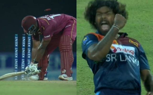 Andre Russell and Lasith Malinga