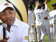 Brian Lara and Indian Test team