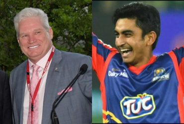Dean Jones and Umer Khan