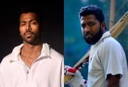 Hardik Pandya and Wasim Jaffer