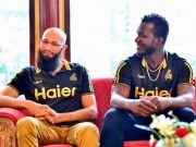 Hashim Amla and Darren Sammy