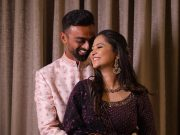 Jaydev Unadkat and his fiancée