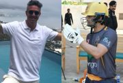 Kevin Pietersen and Ahmed Shehzad