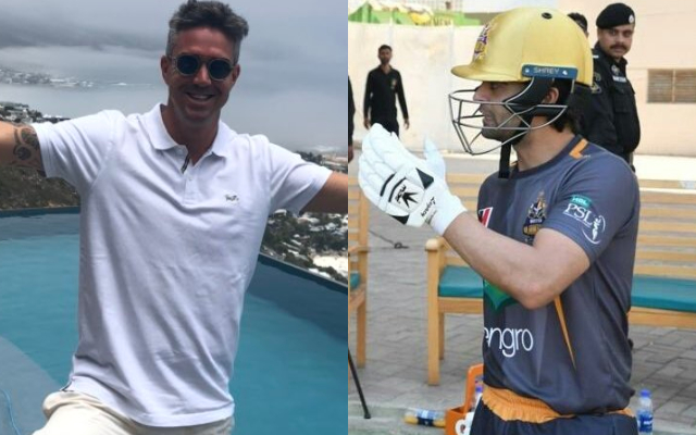 You Must Bat at Number 13: Kevin Pietersen Trolls Ahmad Shahzad