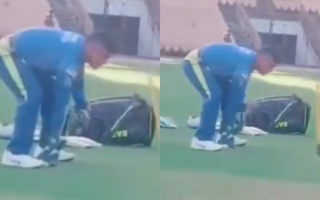 MS Dhoni leaves Chennai Super Kings training camp after IPL's suspension
