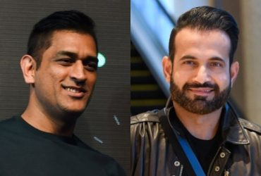 MS Dhoni and Irfan Pathan