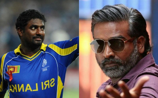 Muttiah Muralitharan and Vijay Sethupathi