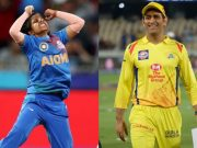 Poonam Yadav and MS Dhoni