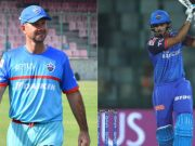 Ricky Ponting and Shreyas Iyer