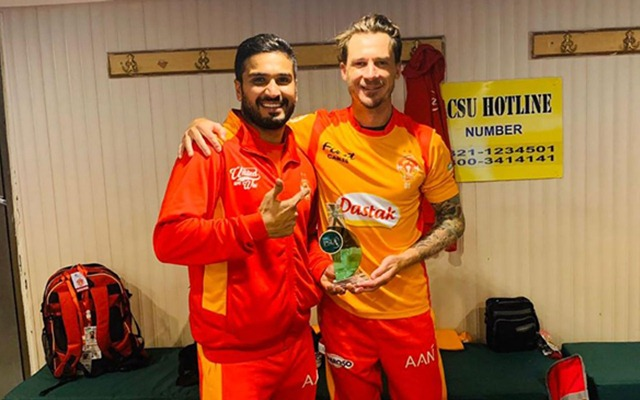 Rumman Raees and Dale Steyn