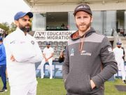 Virat Kohli and Kane Williamson