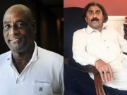 Vivian Richards and Javed Miandad