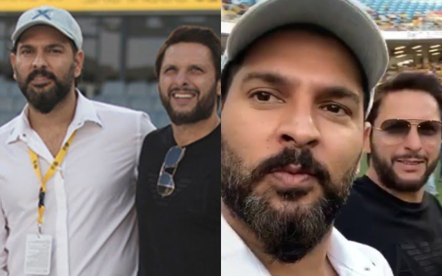 Yuvraj stands with Afridi in fight against COVID-19 #55388