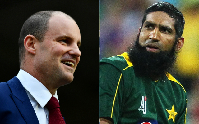 Andrew Strauss and Mohammad Yousuf