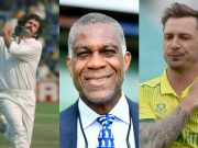 Dennis Lillee, Michael Holding and Dale Steyn