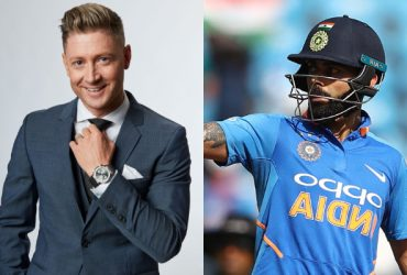 Michael Clarke and Virat Kohli