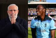 Narendra Modi and Jofra Archer