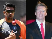 Ravi Ashwin and Glenn Mcgrath