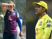 Sam Curran and MS Dhoni