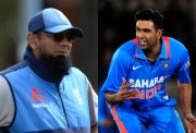 Saqlain Mushtaq and Ravi Ashwin