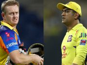 Scott Styris and MS Dhoni